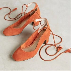 liendo by seychelles pachuca pumps orange